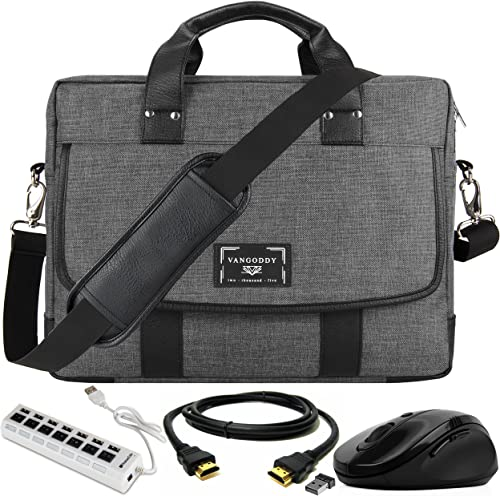USB Hub Laptop Briefcase