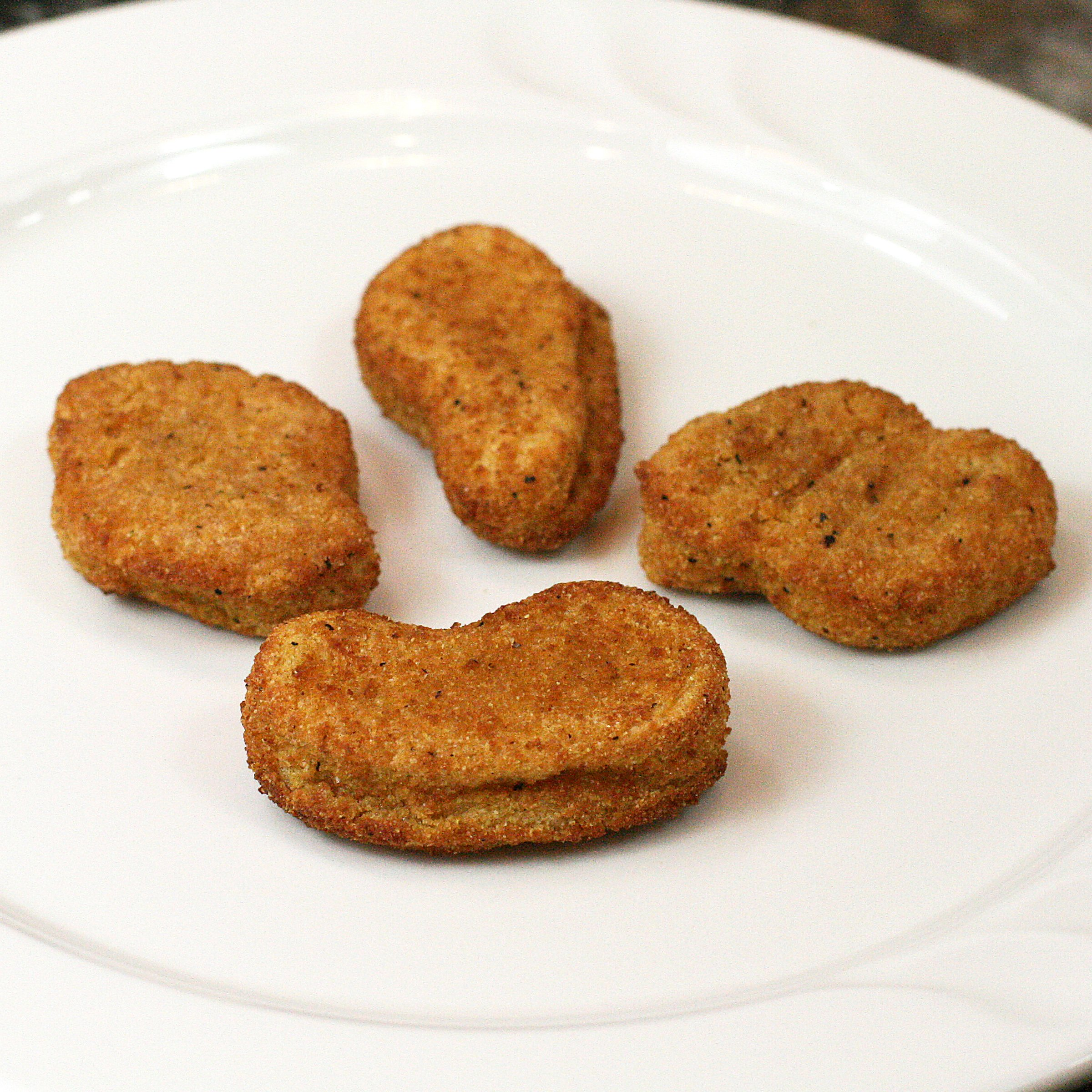 Chicken, Fully Cooked Whole Grain Breaded Chicken Breast Nuggets, 5 lb, (2 per case)