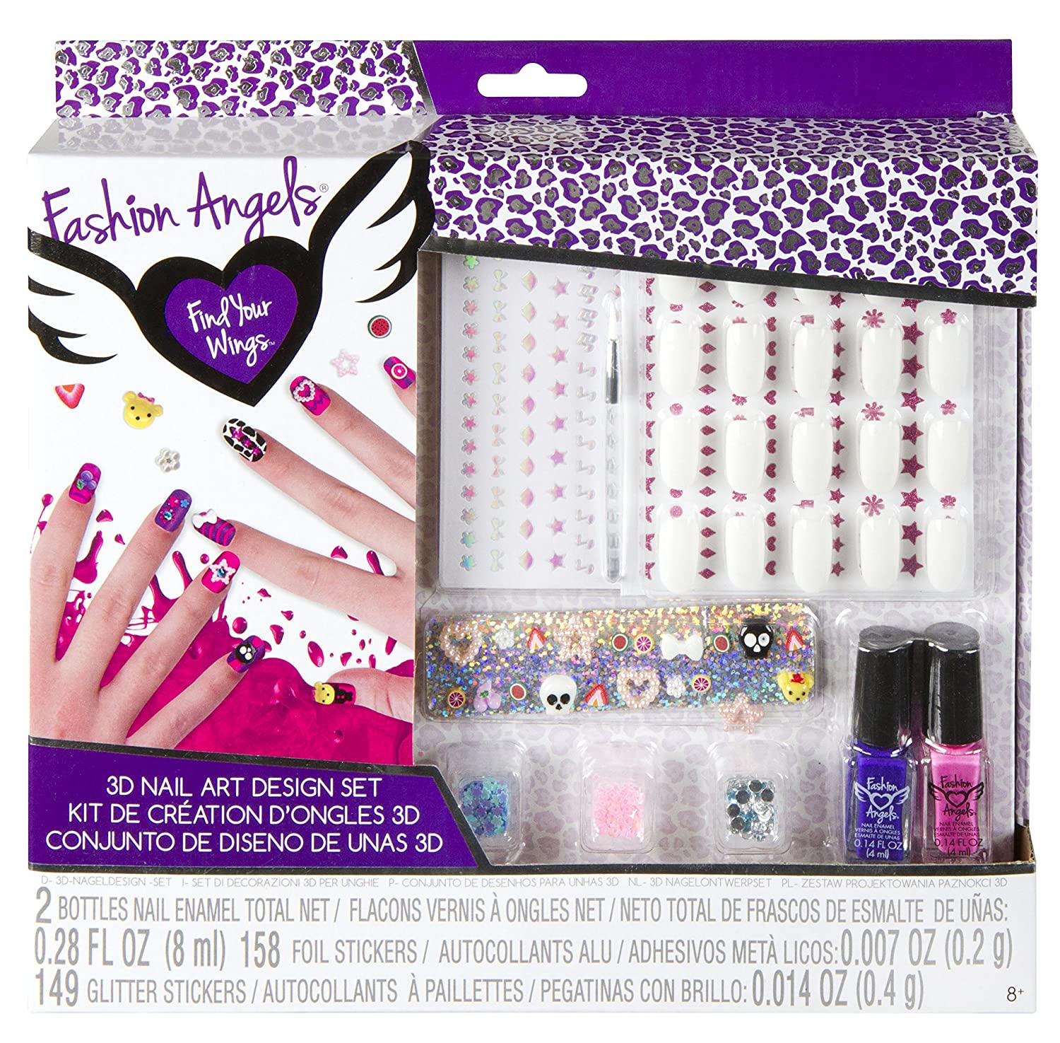 Fashion Angels 3D Nail Design Set: Amazon.co.uk: Toys & Games