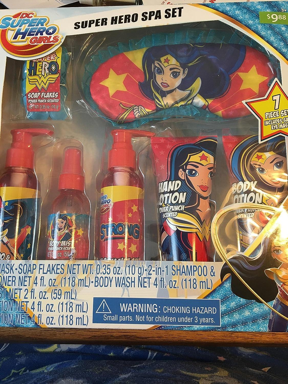 c5fe1e8b9bd Amazon.com  DC Comics DC Superhero Girls Spa Set Cosmetics  Toys   Games