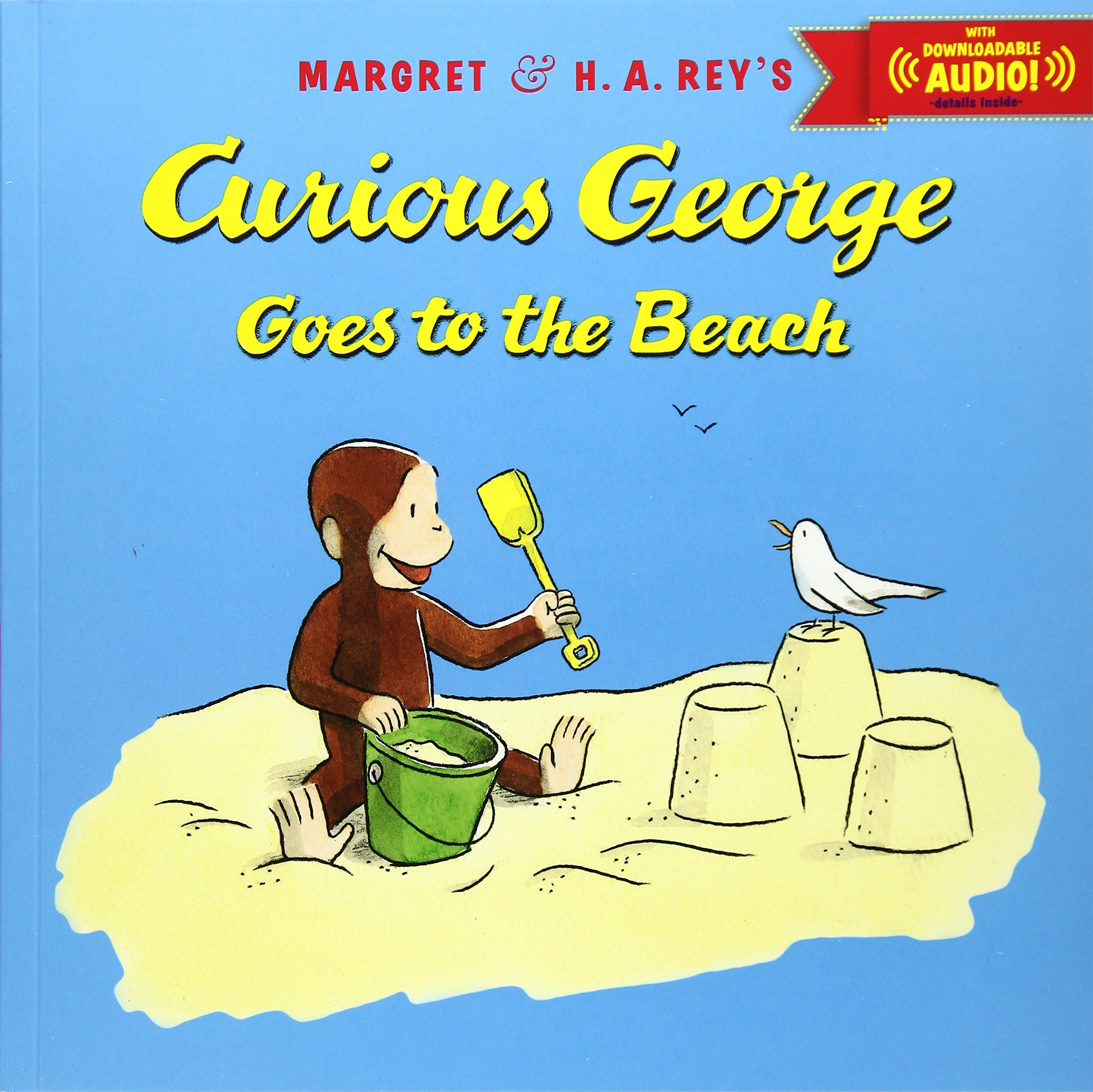 Curious George Goes to the Beach with downloadable audio PDF