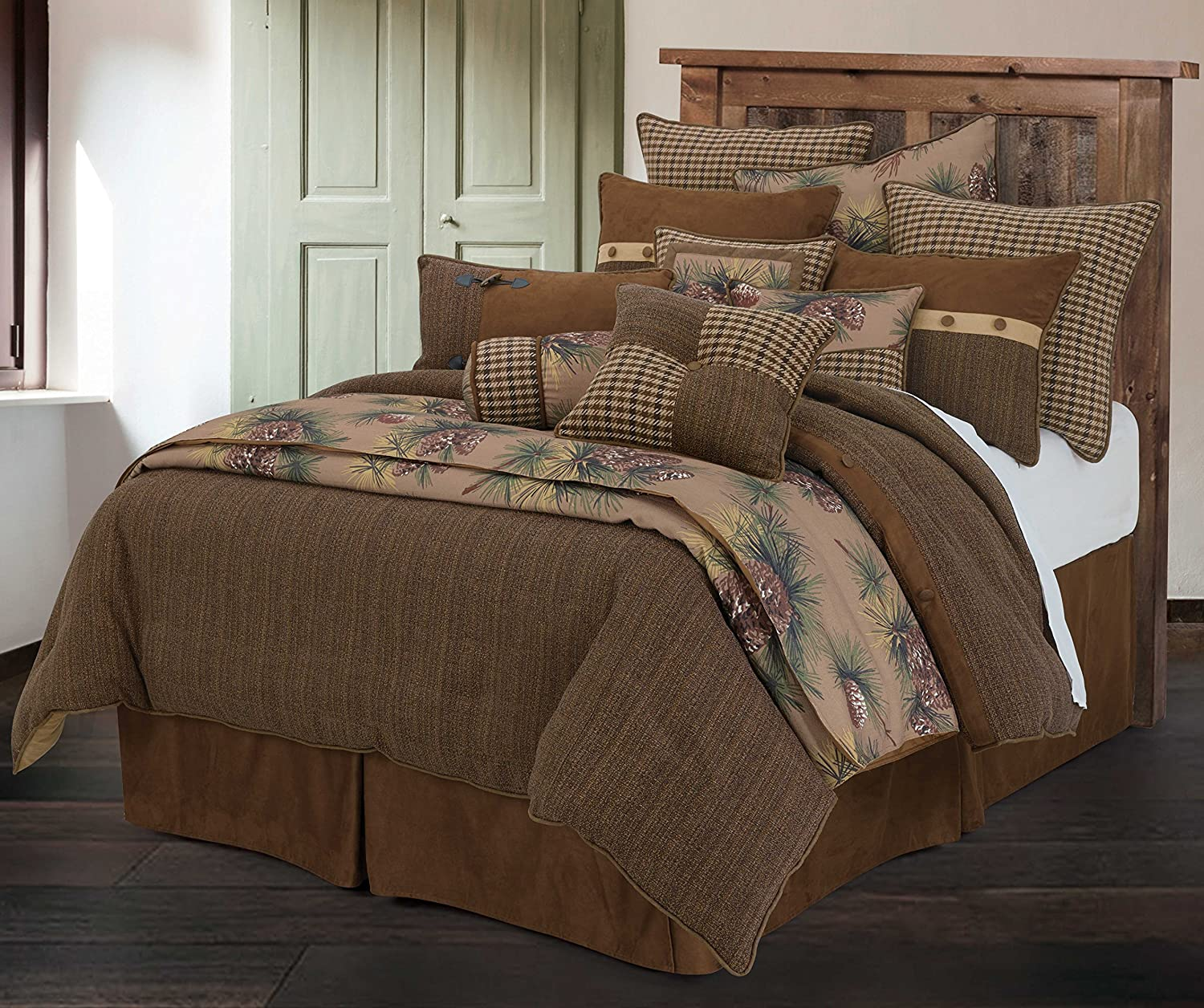 HiEnd Accents Crestwood Bedding Collection, Queen