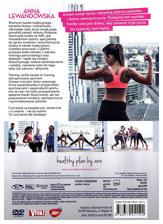 Anna Lewandowska Trening Karate Cardio Dla Kaĺzdego Booklet Dvd No