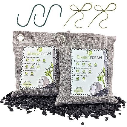 Amazon.es: Emberfresh 2 bolsas purificadoras de aire, carbón ...