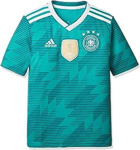 adidas 2018-2019 Germany Away Football Soccer T-Shirt Jersey (Kids)