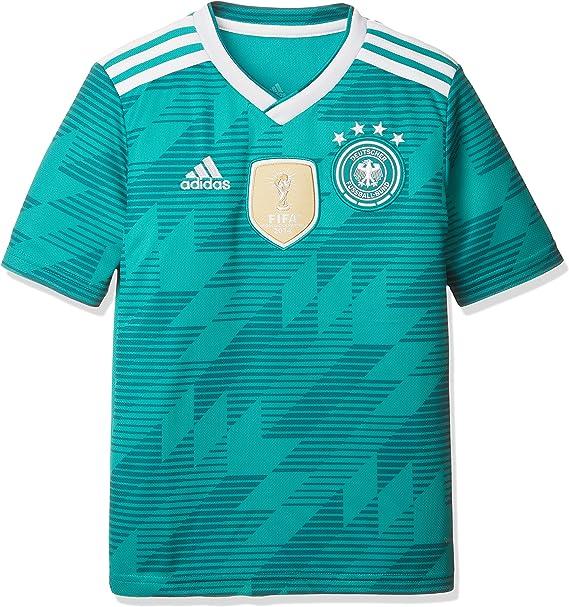 adidas Kinder Dfb Away Jersey 2018 Trikot, grün (eqt green
