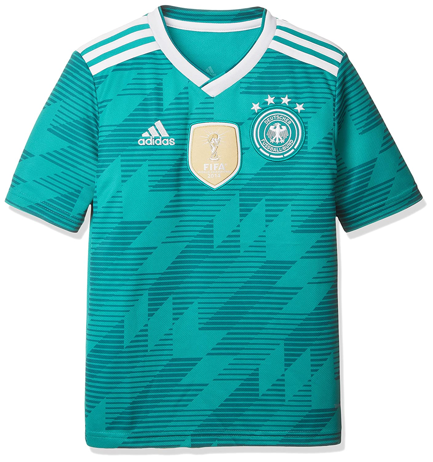 adidas 2018-2019 Germany Away Football Shirt (Kids)