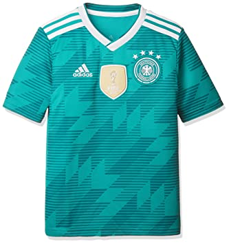 adidas Germany Away Replica Jersey Camiseta 152 Cuello de Pico Manga Corta Poliéster - Camisas y