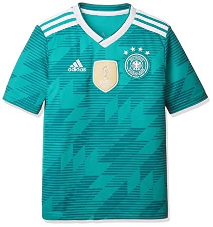 17c0aa7e3 adidas 2018-2019 Germany Away Football Soccer T-Shirt Jersey (Kids)