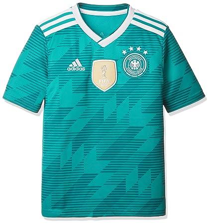 adidas Germany Away Replica Jersey Camiseta 128 Cuello de Pico Manga Corta Poliéster - Camisas y