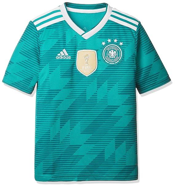 15d190d5501a adidas Dfb Maglia Trasferta WM 2018 Maglia di Calcio, Verde/Bianco:  Amazon.it: Abbigliamento