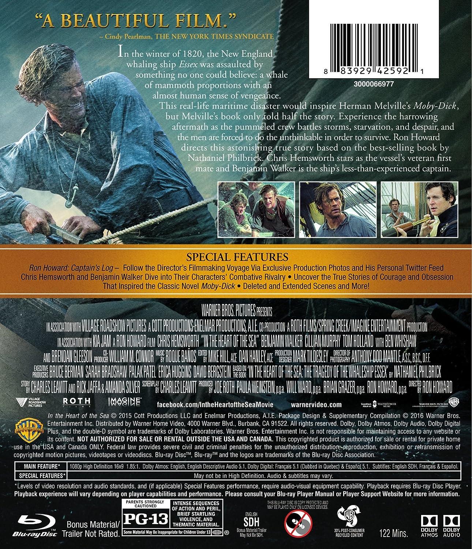 In the Heart of the Sea [USA] [Blu-ray]: Amazon.es: Hemsworth ...