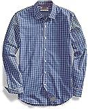 Goodthreads Mens Slim-fit Long-Sleeve Summertime Gingham Shirt