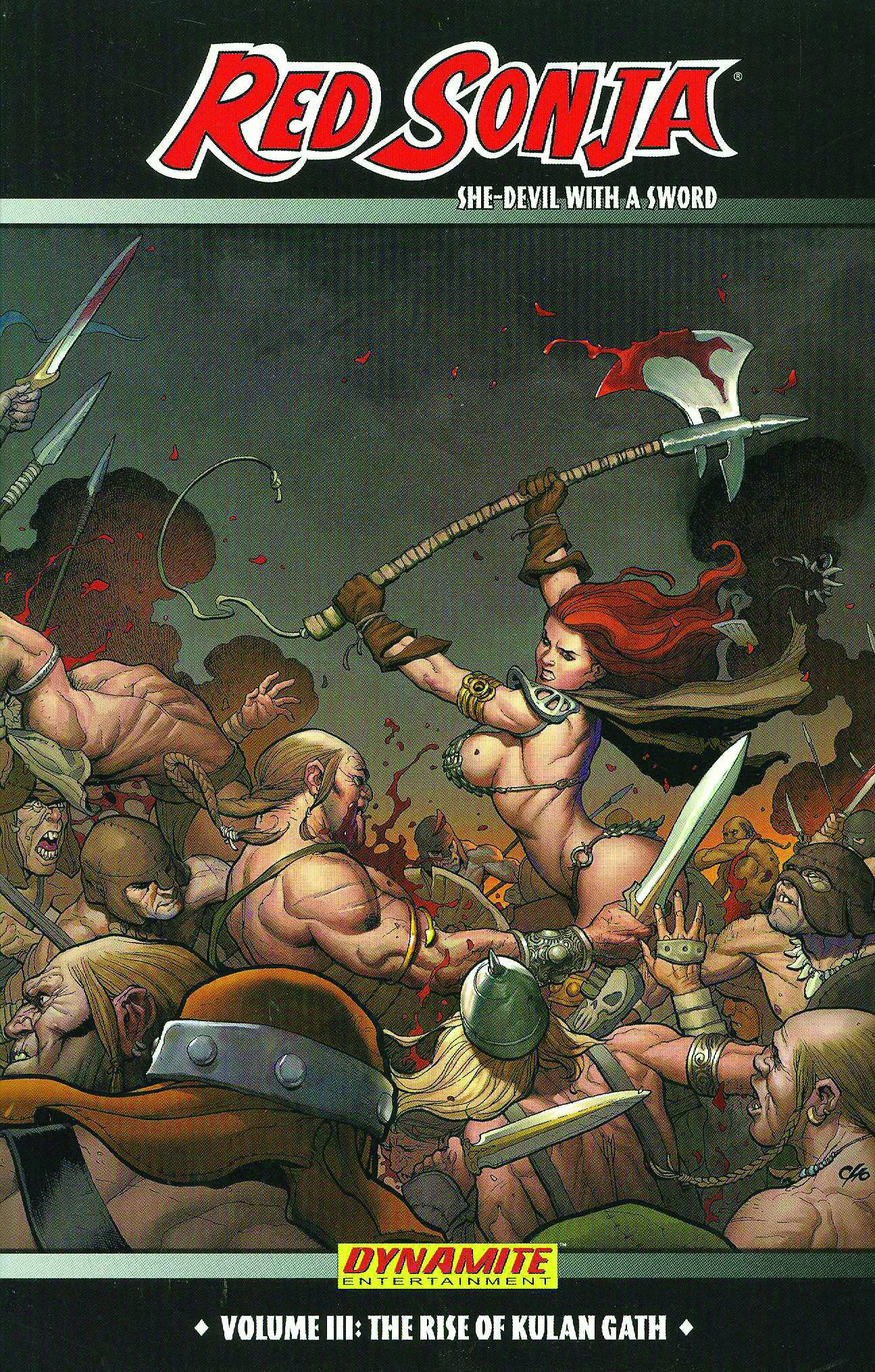 Read Online The Rise of Gath (Red Sonja: She-Devil with a Sword, Vol. 3) pdf