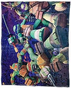 Nickelodeon Teenage Mutant Ninja Turtles Fleece Blanket