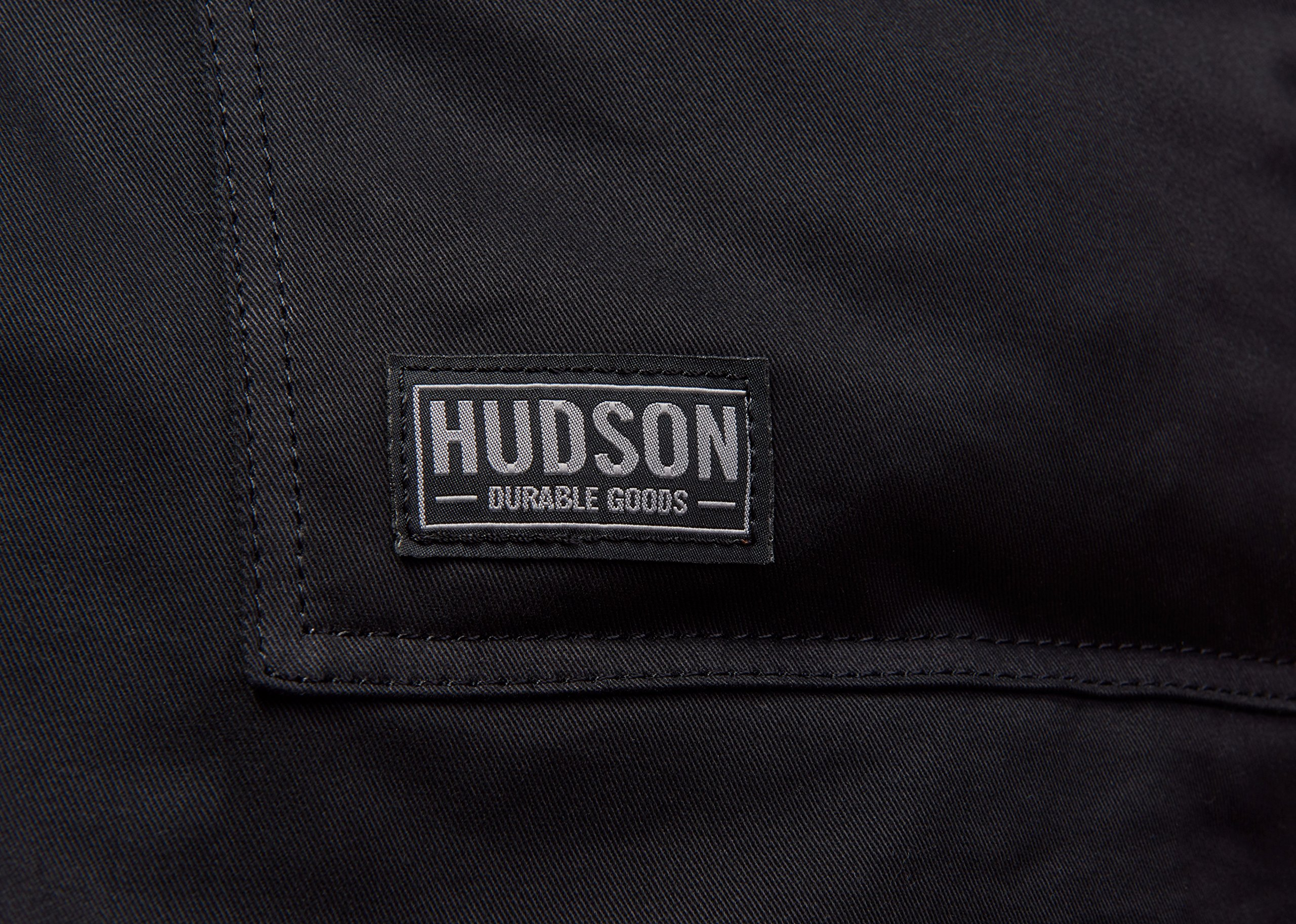 Hudson Durable Goods - Professional Grade Chef Apron for Kitchen, BBQ, and Grill (Black) with Towel Loop + Tool Pockets + Quick Release Buckle, Adjustable M to XXL by Hudson Durable Goods (Image #9)