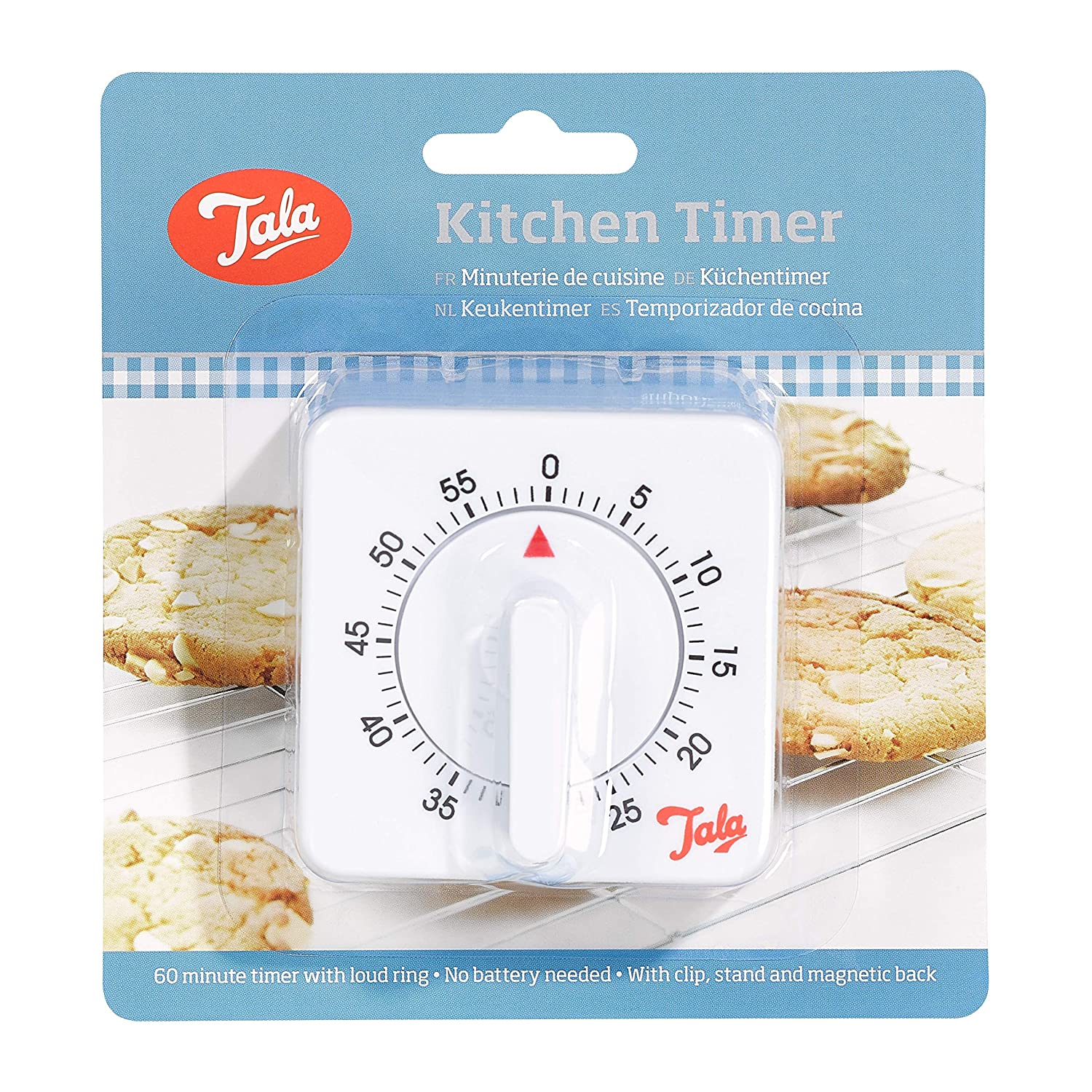 Amazon.com: White Kitchen Timer With Loud Ring: Kitchen & Dining