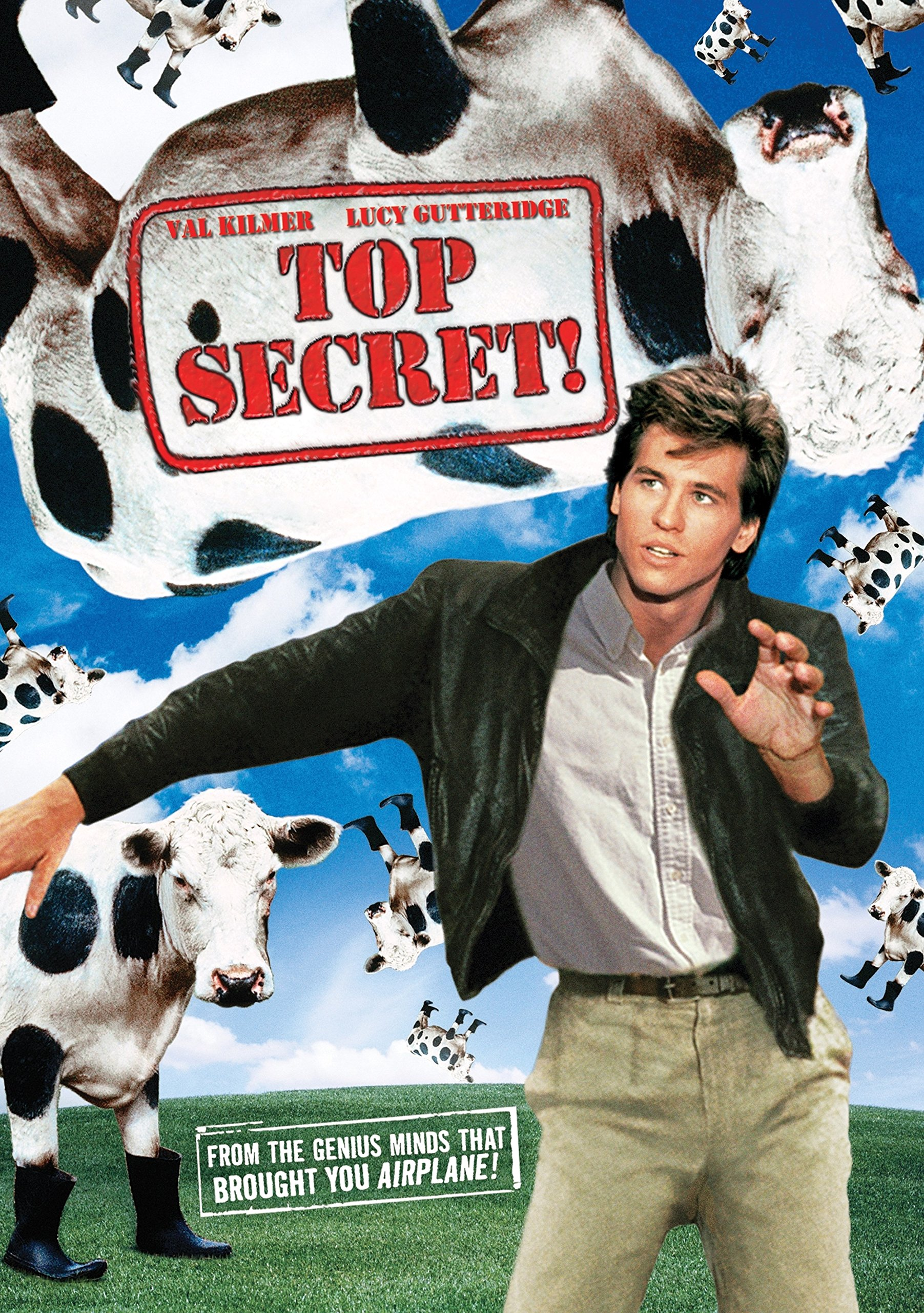 DVD : Top Secret! (Widescreen, Dolby, AC-3, Dubbed, )