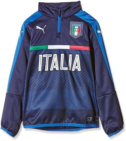 Puma FIGC - Felpa Ragazzo  Amazon.it  Sport e tempo libero 7db369b1e4475