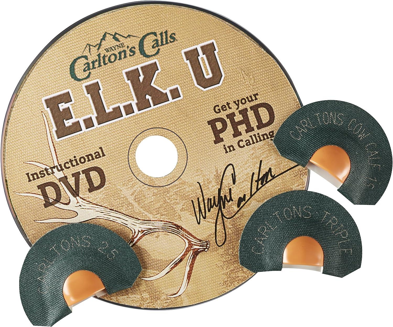 Hunters Specialties Carltons Calls 1.5 Reed Tone Trough Elk Diaphragm Call