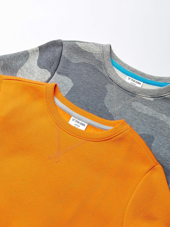 Felpa Bambino Boys 2-pack Crew Sweatshirt Spotted Zebra Marchio