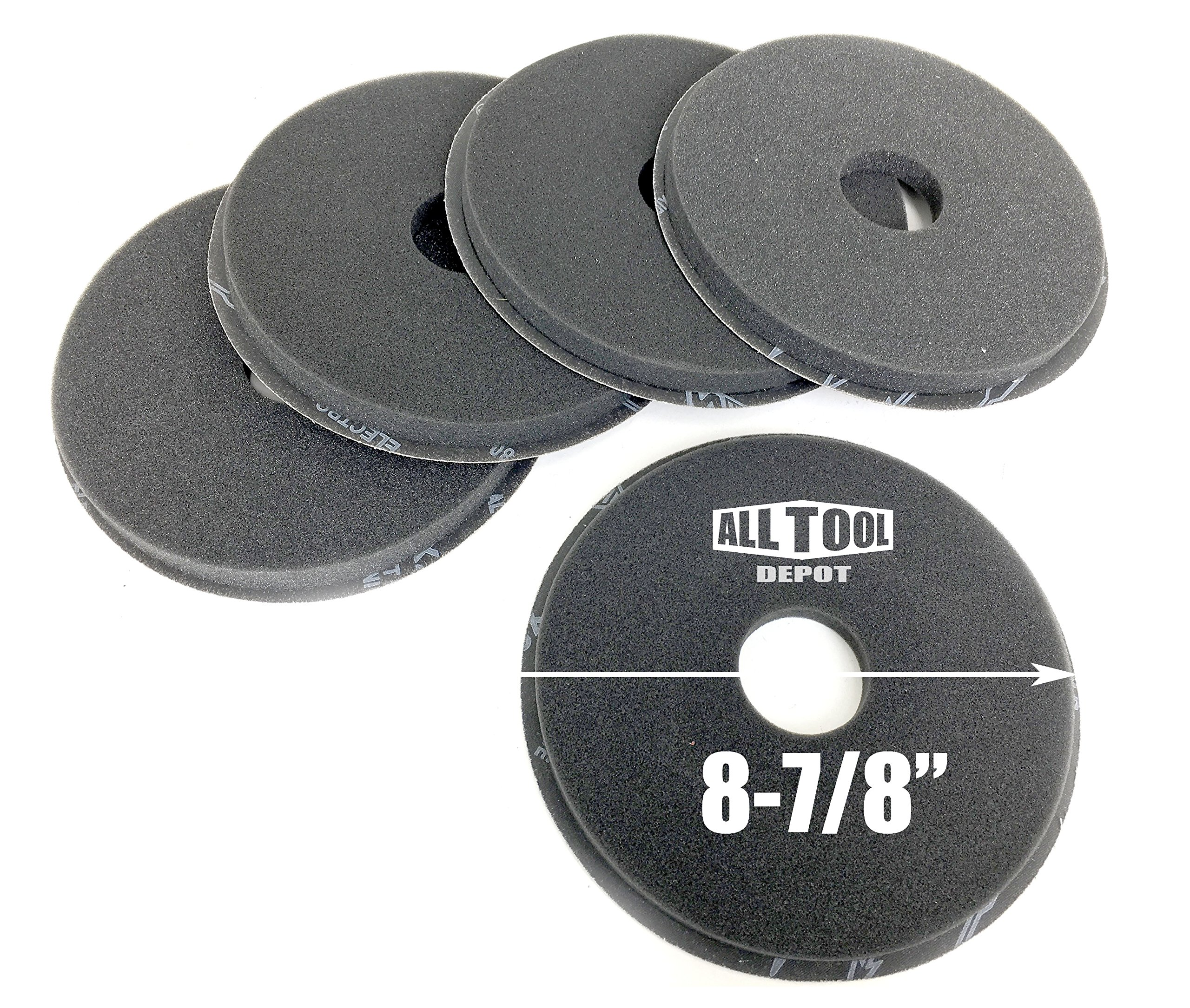 Best In USA PORTER-CABLE 7800 Drywall Sander 100 Grit Drywall Sanding Disc (5-Pack)