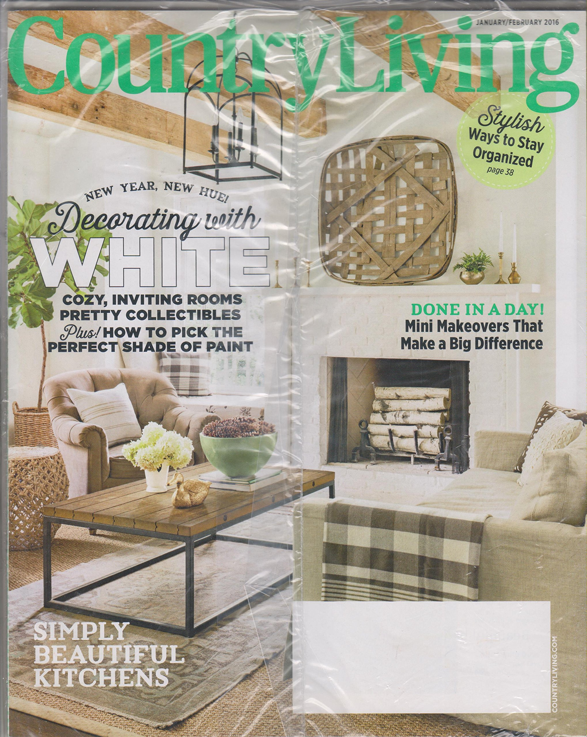 Country Living January February 2016 Simply Beautiful ...