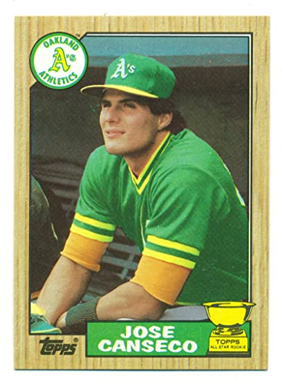 half off e952b 6b14c Lot of 5 1987 Topps Jose Canseco All-Star Rookie #620 ...
