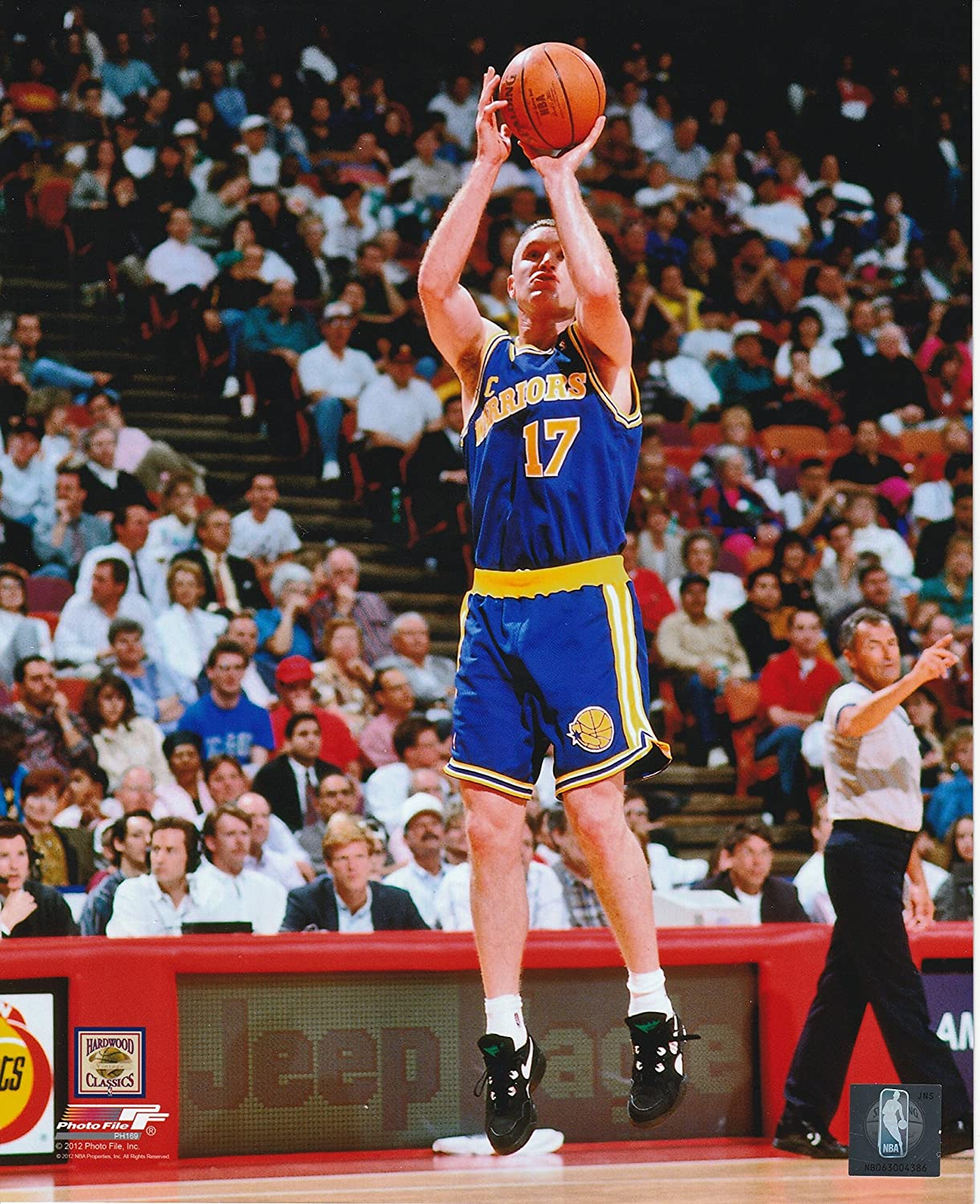 Amazon.com   Chris Mullin Golden State Warriors Unsigned Licensed  Basketball Photo   Everything Else 932b94915
