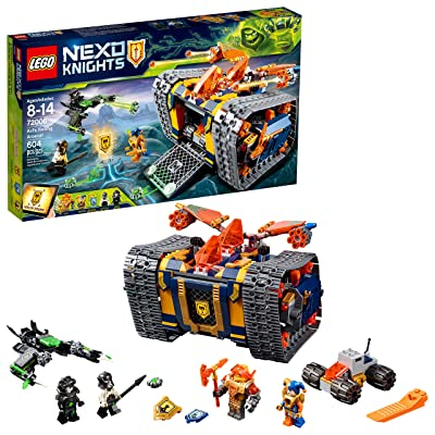 LEGO NEXO KNIGHTS Axl's Rolling Arsenal 72006 Building Kit (604 Piece): Toys & Games