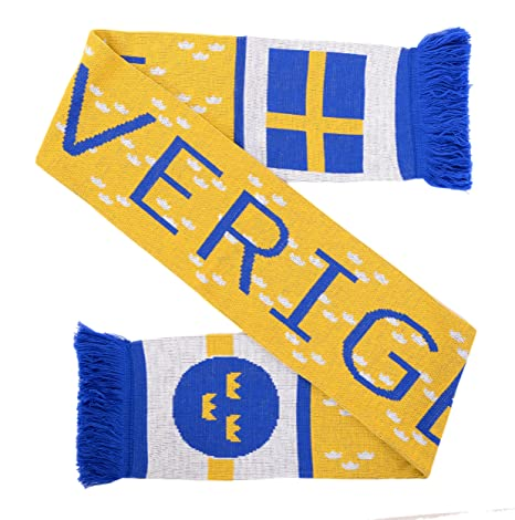 Image Unavailable. Image not available for. Color  Sverige Sweden Soccer  Knit Scarf. Roll over image to zoom in 50d4d4e66