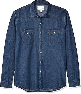 Duke - Camisa Vaquera Modelo Western en Tallas Grandes para Hombre: Amazon.es: Ropa y accesorios