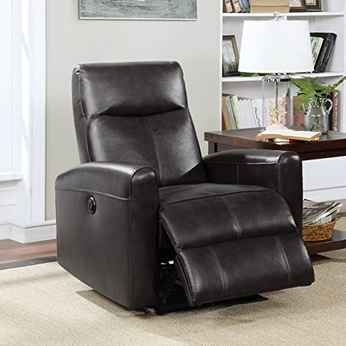 AC Pacific Electric Recliner Power Chair Black