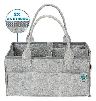 Amazon.com: Caddy organizador – grande de pañales de bebé ...
