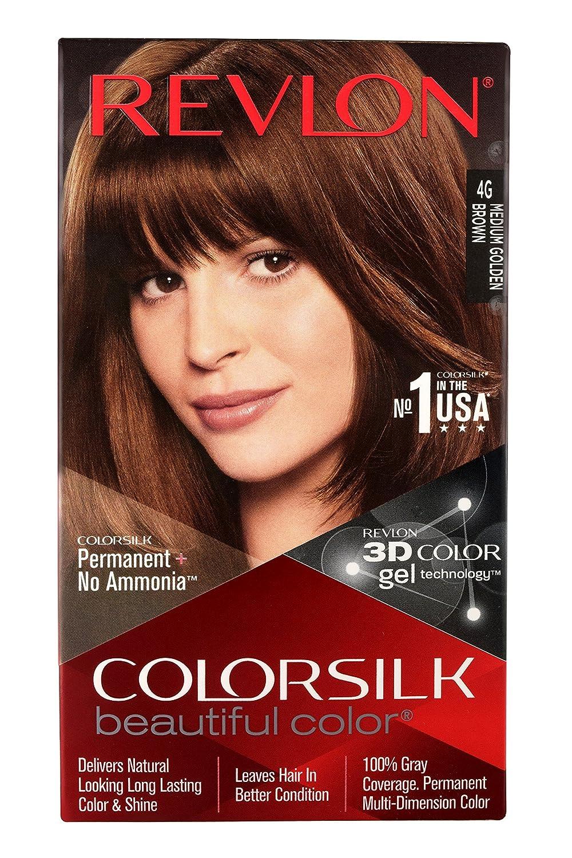 Buy Revlon Colorsilk Hair Color With 3d Color Technology Dark Brown