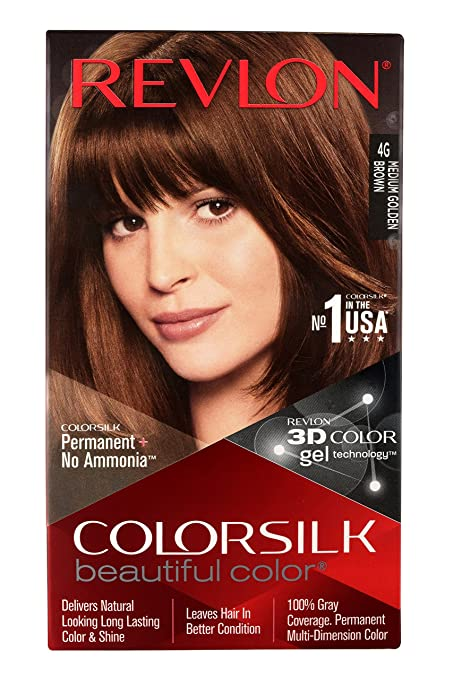Buy Revlon Colorsilk Hair Color With 3d Color Technology Dark Brown