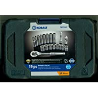 Kobalt 19-Pc. Metric Mechanic's Tool Set with Hard Case