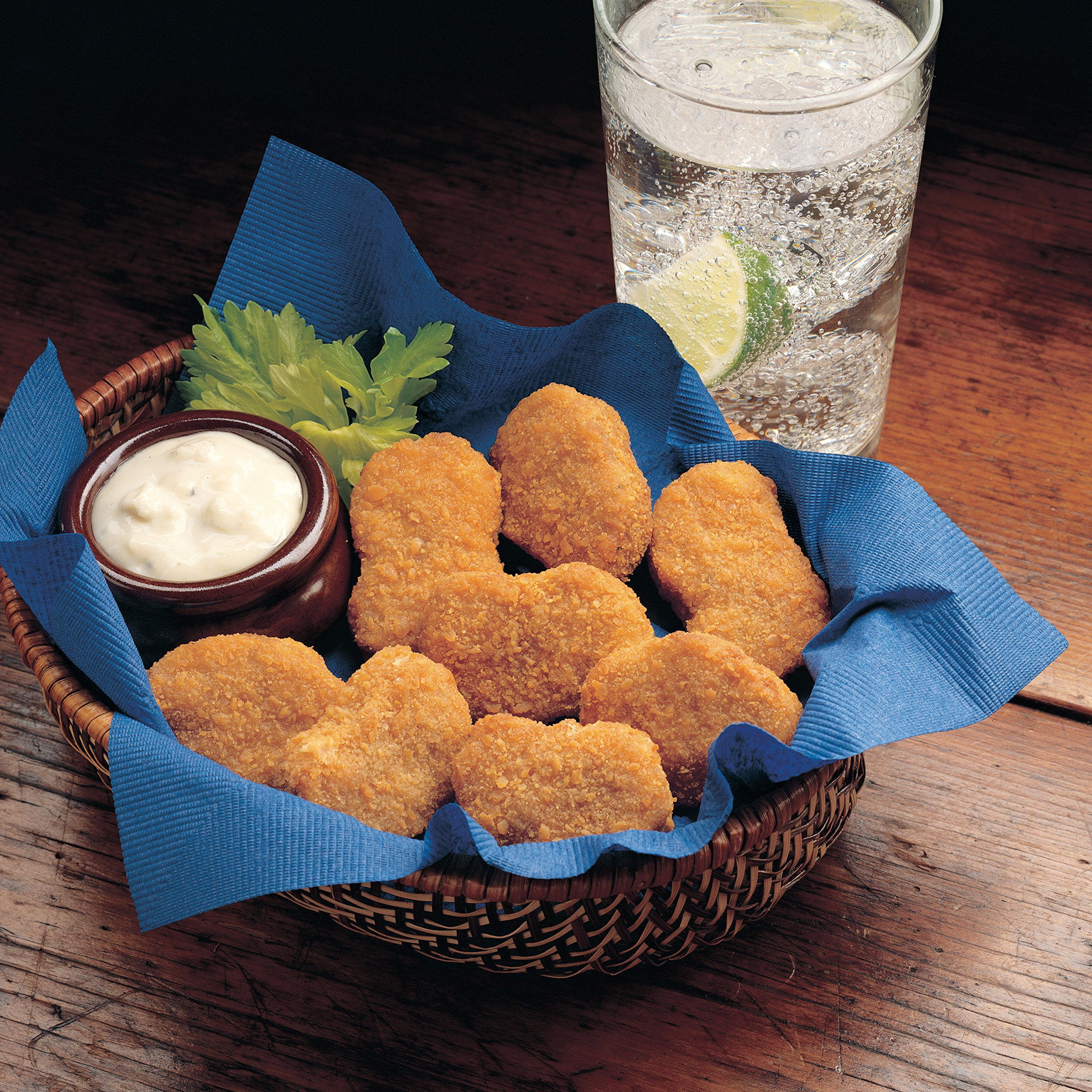 Brakebush Chicken Nuggets Fully Cooked, 6 lb, (2 count)