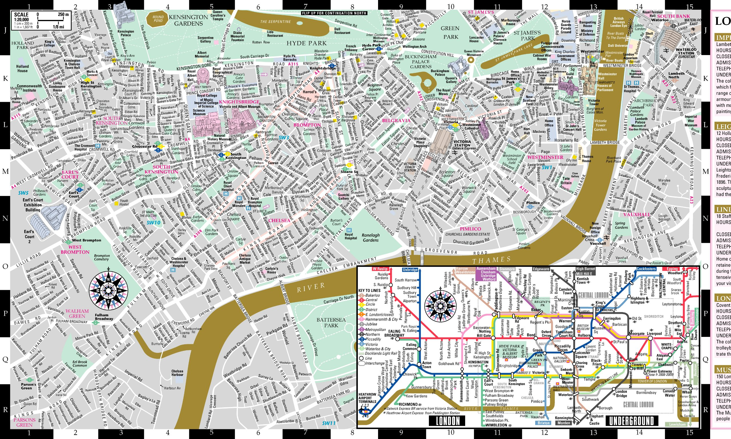 artwise london museum map laminated museum map of london