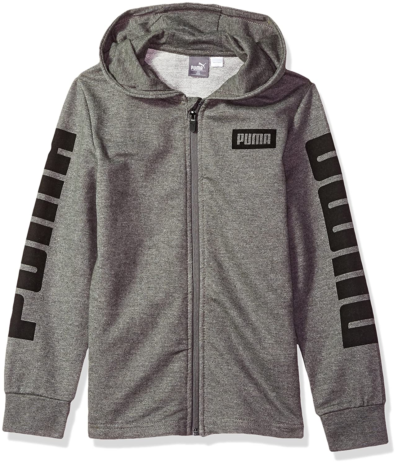 PUMA Boys' Rebel Full Zip Hoodie
