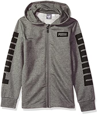 f468360ebc56 Amazon.com  PUMA Boys  Rebel Full Zip Hoodie  Clothing