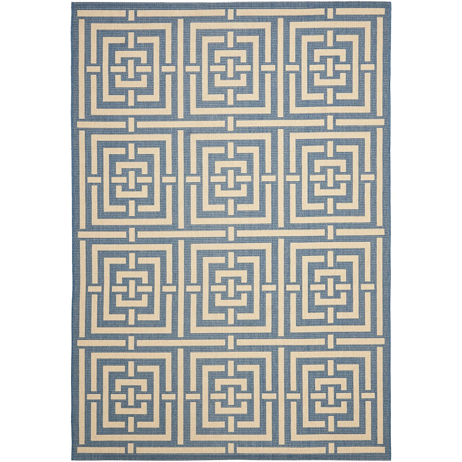 Amazon Safavieh Courtyard Collection CY6937 65 Grey and Cream