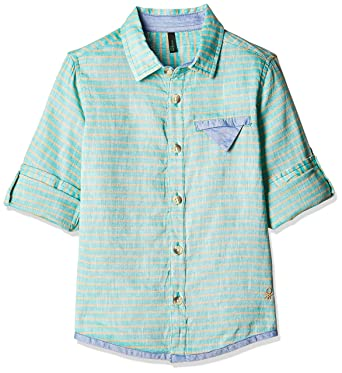 United Colors of Benetton Boys' Shirt Boys' Shirts at amazon