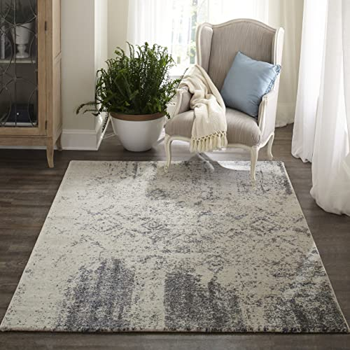 Momeni Rugs Loft Collection, Contemporary Area Rug, 2 x 3 , Ivory