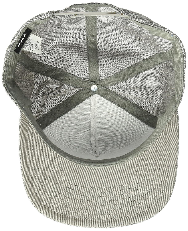 cbd739d5526 RVCA Mens Finley Snapback Hat Black Heather ONE Size MAHWPRFL ...