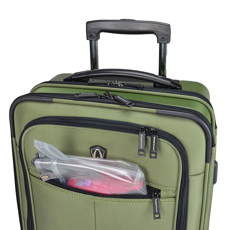 Amazon.com   Traveler s Choice Sienna Hybrid Carry-On Rolling Garment Bag -  Green (21-Inch)   Luggage 6f5555483d
