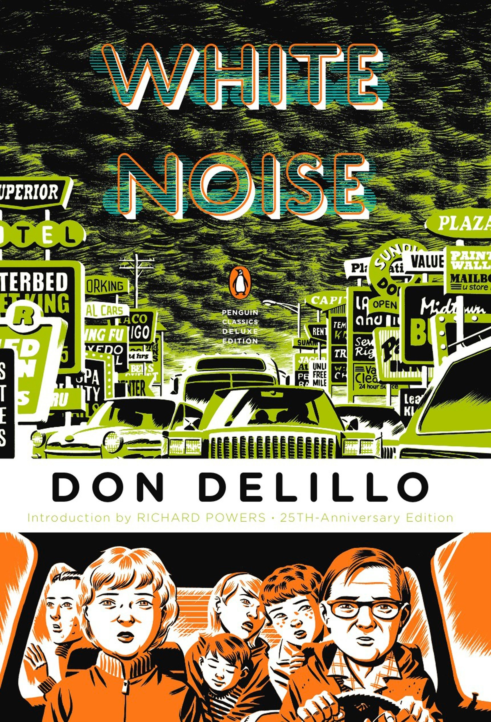 White Noise: Don DeLillo, Richard Powers: 9780143105985: Amazon.com: Books