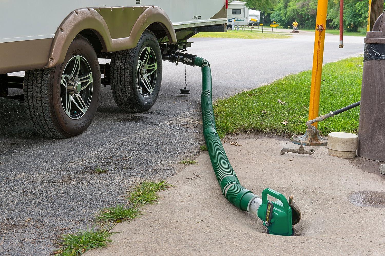 Lippert 359724 Waste Master 20/' Extended RV Sewer Hose Management System