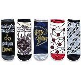 Hyp Harry Potter Marauder's Map Letter Muggle Juniors/Womens 5 Pack Ankle Socks Size 4-10