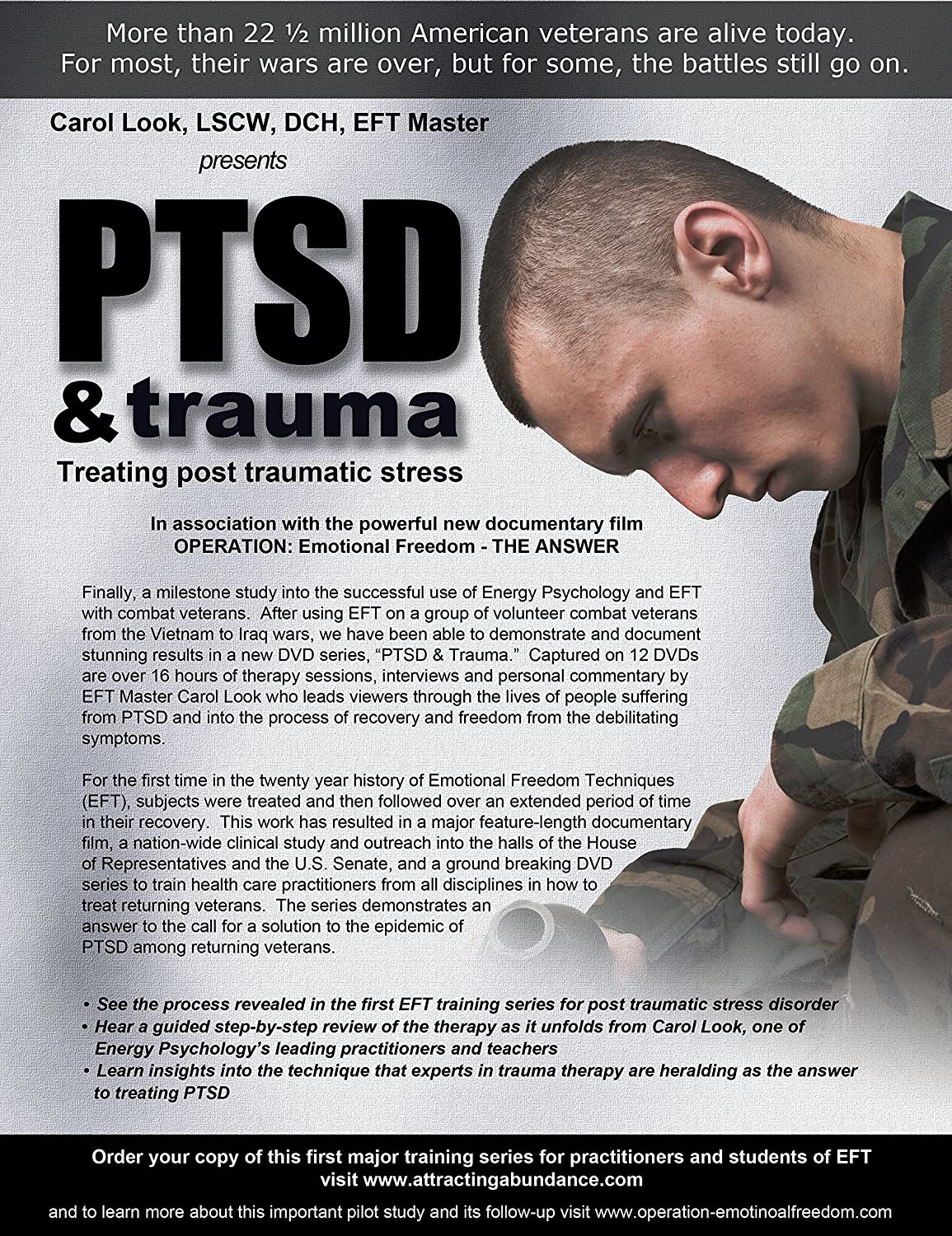 EFT for PTSD Successful Treatment For Post-Traumatic Stress Disorder